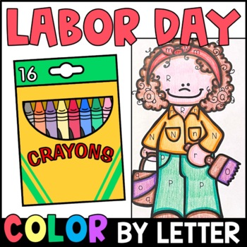 Color by Letter: Labor Day