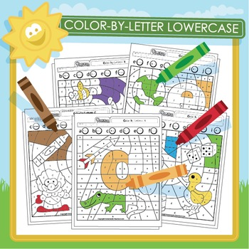 Color by Letter Lowercase