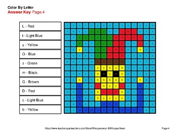 Color by Letter: Lowercase & Uppercase - Middle Ages Mystery Pictures