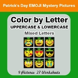Color by Letter: Lowercase & Uppercase - St. Patrick's Emo