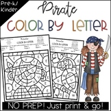 Pirate Color by Letter