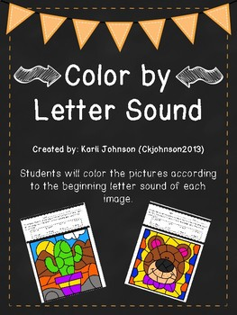 Color by Letter Sound- Phonics