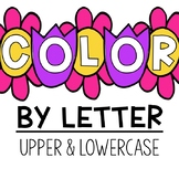 Color by Letter:  Spring