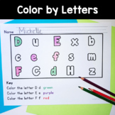 Color by Letter from A-Z!