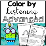 Color by Listening Advanced (A Following Directions Activity)