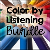 Color by Listening Bundle (A Following Directions Act)