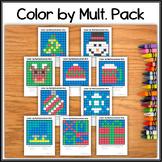 Color by Multiplication – Christmas/Winter Bundle - Hidden