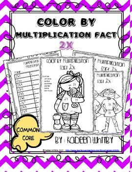 Multiplication Fact 2x