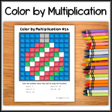 Color by Multiplication – Hidden Picture #16 Ornament