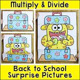 Color by Multiplication and Division Differentiated Surpri