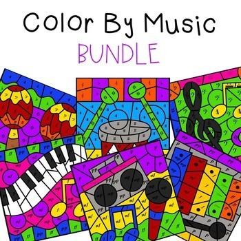 Color by Music Bundle (Save 20%)
