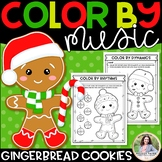 Color by Music: Gingerbread Cookies! {Notes, Symbols, Rhyt