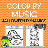 Color by Music: Halloween Dynamics