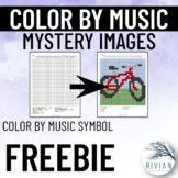 Color by Music: Mystery Image SAMPLE FREEBIE