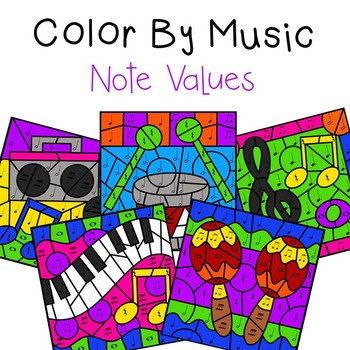 Color by Music (Note Values)
