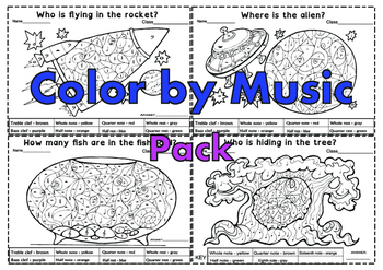 Color by Music Pack