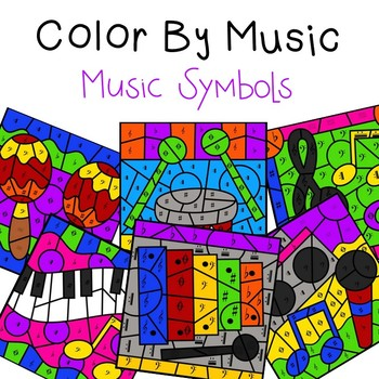 Color by Music (Symbols)