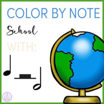 Color by Note Back to School