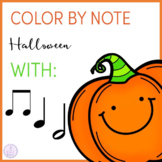 Color by Note Halloween