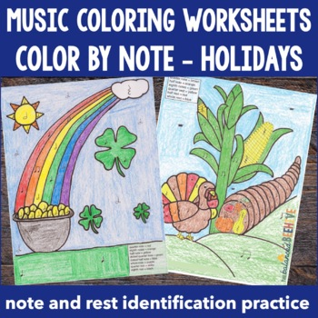 Color by Note - Holidays