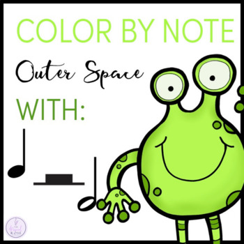 Color by Note Outer Space