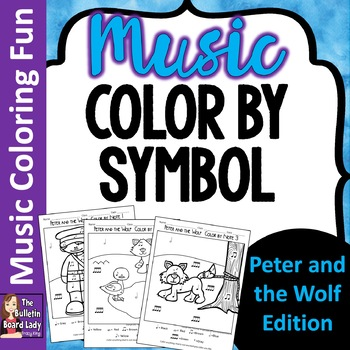 Color by Note - Peter and the Wolf