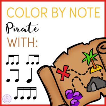 Color by Note Pirate