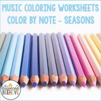 Color by Note - Seasons