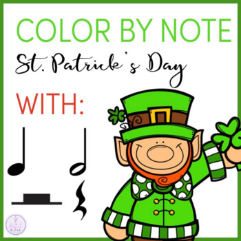 Color by Note St. Patrick's Day