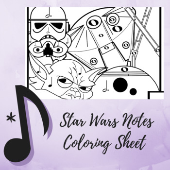 "Color by Note - The Music Strikes Back ""Star Wars"" Edition"