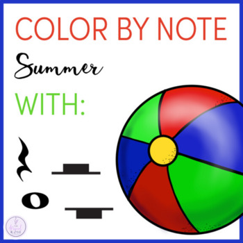 Color by Note Summer