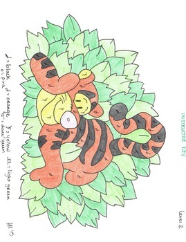 Color by Note - Tigger