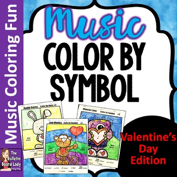 Color by Note - Valentine's Day