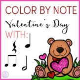 Color by Note Valentine's Day