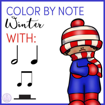 Color by Note Winter