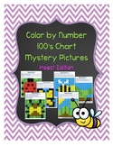 Color by Number 100 Chart Mystery Pictures: Insect Edition