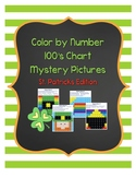 Color by Number 100 Chart Mystery Pictures: St. Patrick's Edition