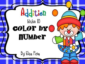 Color by Number: Addition