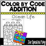Color by Number: Addition: Ocean Theme