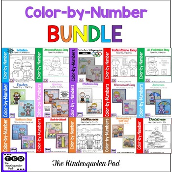 Color-by-Number - GROWING BUNDLE