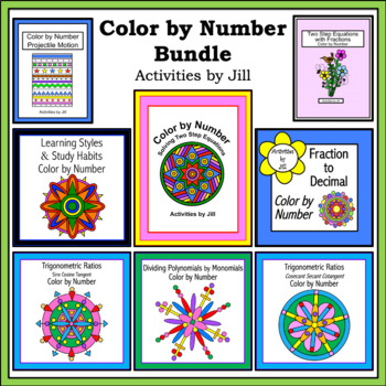 Color by Number Bundle