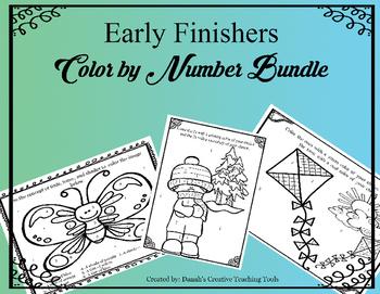 Color by Number Bundle- Art Concepts