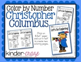 Color by Number Christopher Columbus