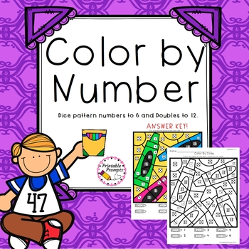 Color by Number & Doubles Fact