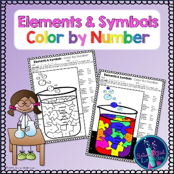 Chemical Elements - Color by Symbols