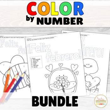 Color by Number- Month Sets BUNDLE