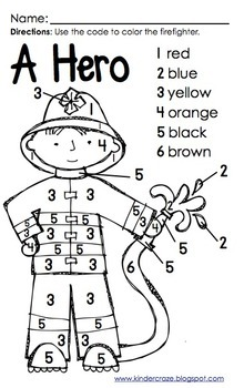 firefighter gear coloring pages - photo#23