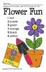 Color by Number Flower Pot
