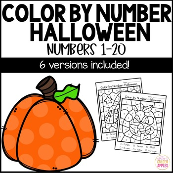 Color by Number Halloween