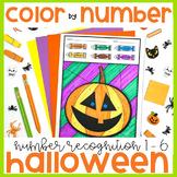 Color by Number - Halloween Edition {Kindergarten Number Recognition}